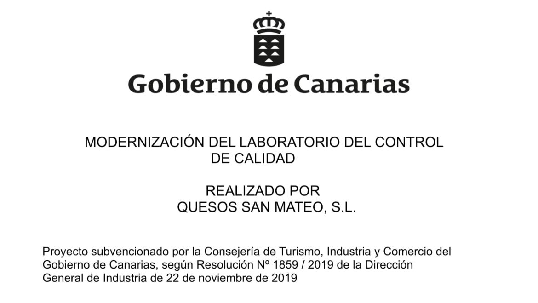 Proyecto Modernización del laboratorio del control de calidad